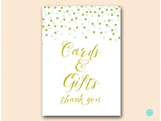 sn488m-cards-gifts-sign-5x7-mint-gold-bridal-shower