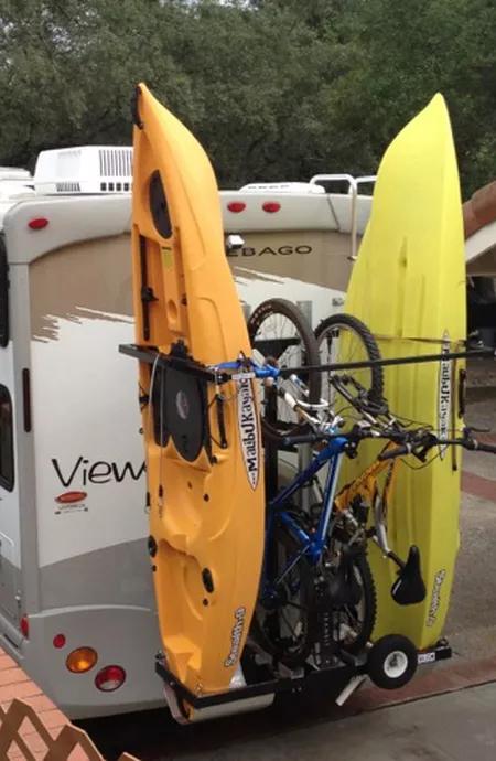 Okr2b56 Fits Kayaks Or Sups Up To 36 Wide Optional Bike Rack Can