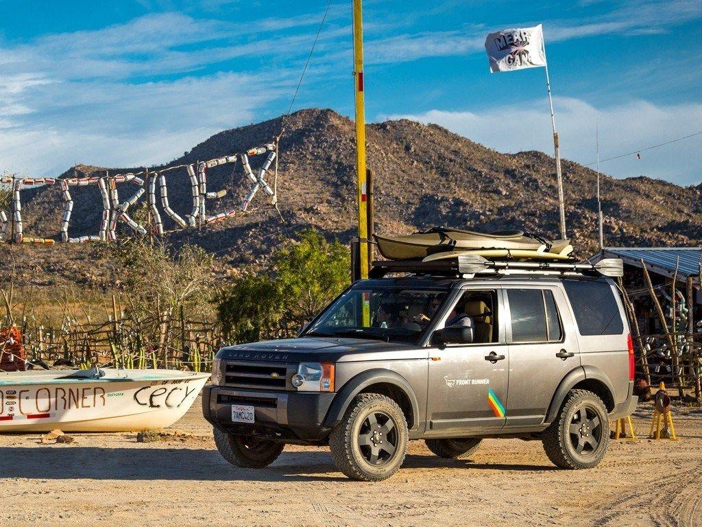 Land Rover Discovery Lr3 Lr4 Slimline Ii Roof Rack Kit By Front Runner Land Rover Land Rover Discovery Cargo Roof Rack