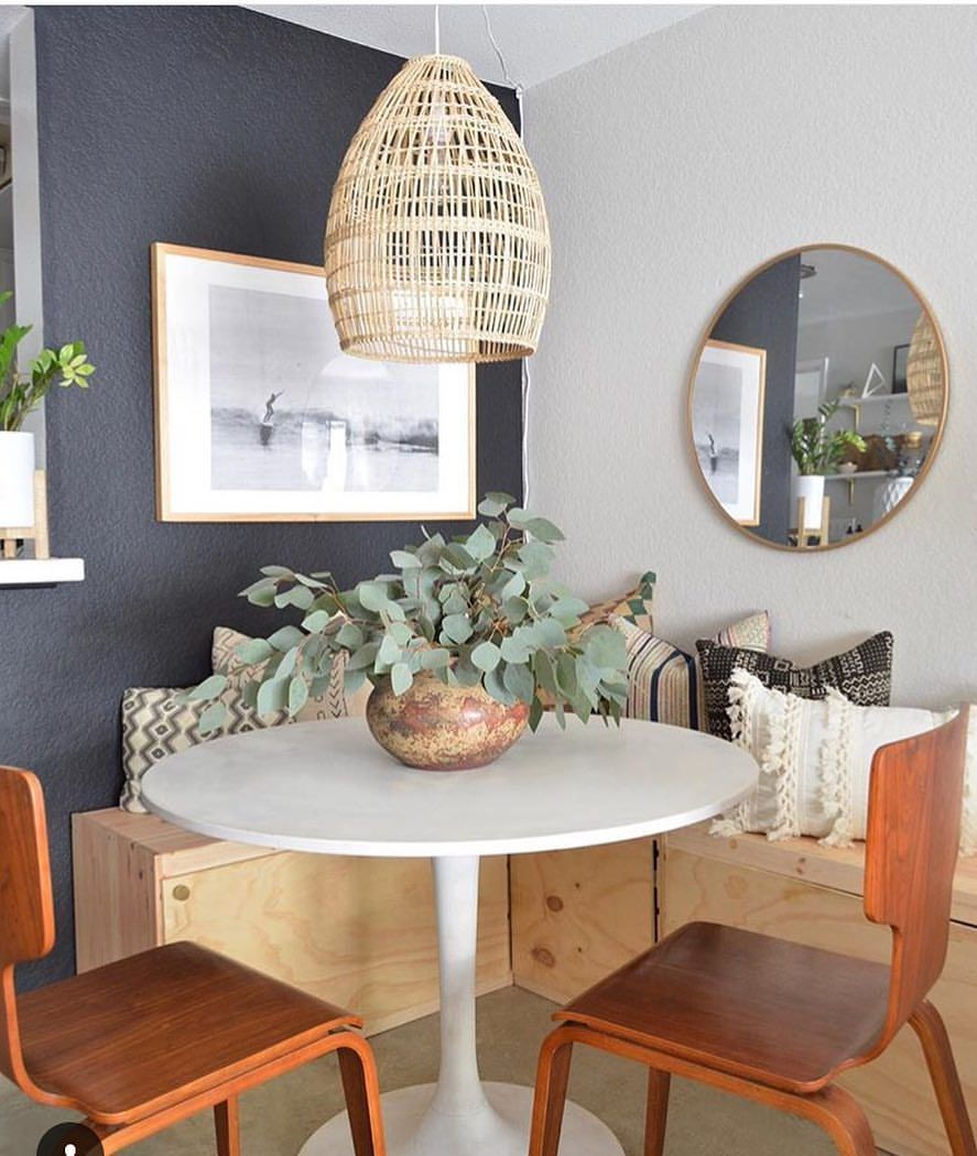 mid century boho scandinavian omysadesign instagram photos and videos in 2019 tiny dining on boho chic dining room kitchen dining tables id=95004