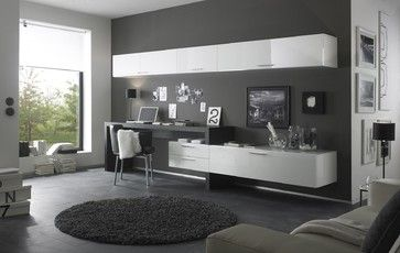 Modern Wall Unit Tv Media Entertainment