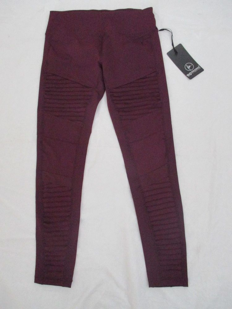 c033d789bb92d9 Pants Yoga Leggings 90 Degree By Reflex Color Merlot Style PW75940  #90DegreebyReflex #Legging