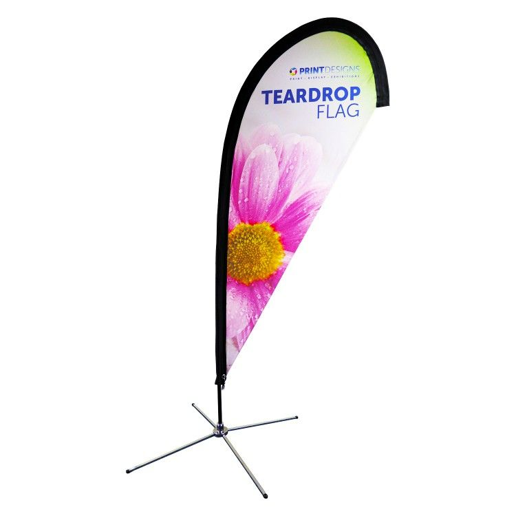 Teardrop Flags Printing Double Sided Printing On Fabric Flag