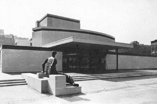 Schauspielhaus (1966) in Wuppertal, Germany, by Gerhard Graubner