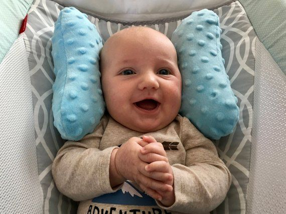 baby memory foam neck support pillow in