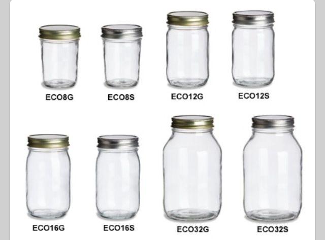 Mason Jars Different Sizes Design Decoration