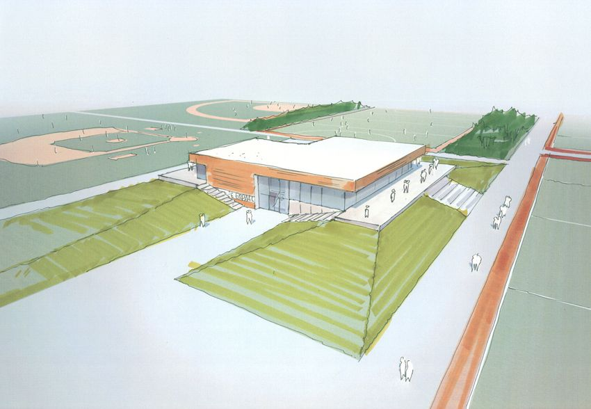 Multi purpose sports facility building, Moederscheim Moonen – BETA