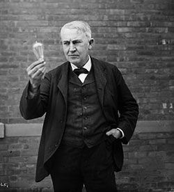 Thomas Edison With Images Thomas Edison Thomas Edison Quotes Alva Edison