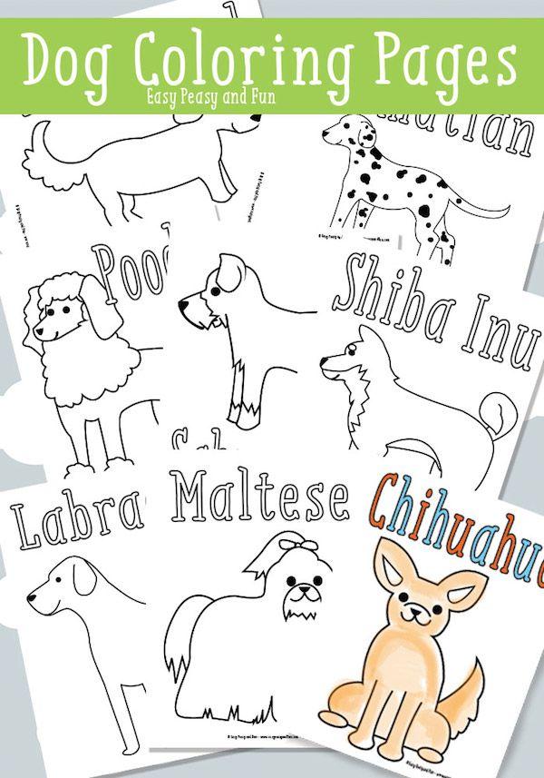 40 dibujos para colorear de animales   Free printables   Pinterest ...