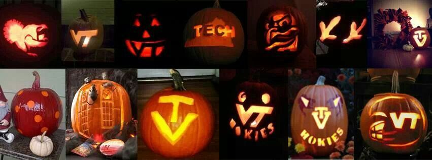 Virginia Tech Pumpkin Designs Hokies Virginia Tech Hokies Virginia Tech