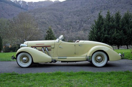 AUBURN 851 Speedster, 1936