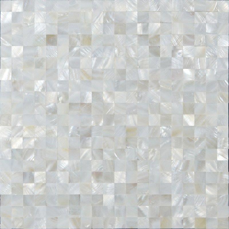 Shell Tiles Kitchen Backsplash Wall Stickers Seashell Mosaic Tile Gl Accent Strip Flat Diytileguy