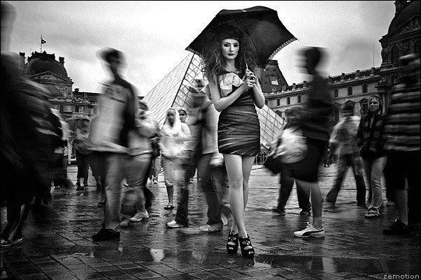 Art beautiful black and white fashion model photography