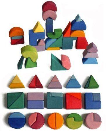 Bloques de los hermanos Grimm - Juguetes de construcción varias formas: Amazon.es: Juguetes y juegos
