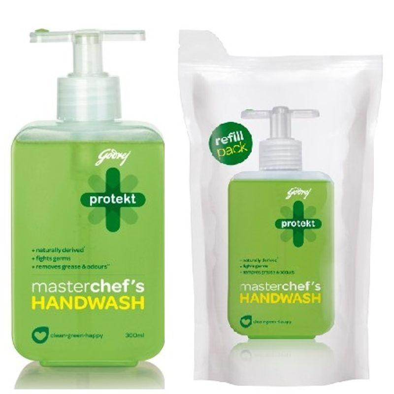 Godrej Protekt Masterchef S Handwash Refill Pouch 이미지 포함