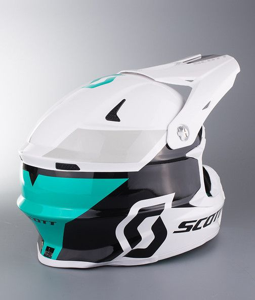 Scott 350 Pro Race Ece Mx Helmet White Ridestore Com Helmet