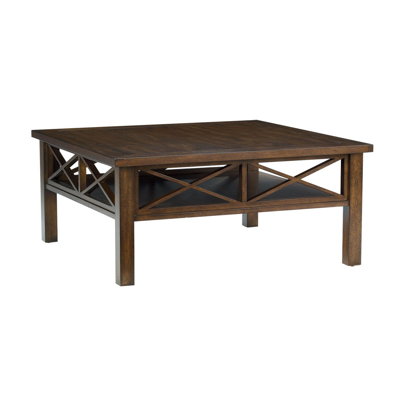 Ethan Allen Tuscan Coffee Table: Dexter Square Coffee Table - Ethan Allen US