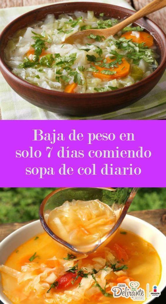 Dieta de la sopa de col recetas