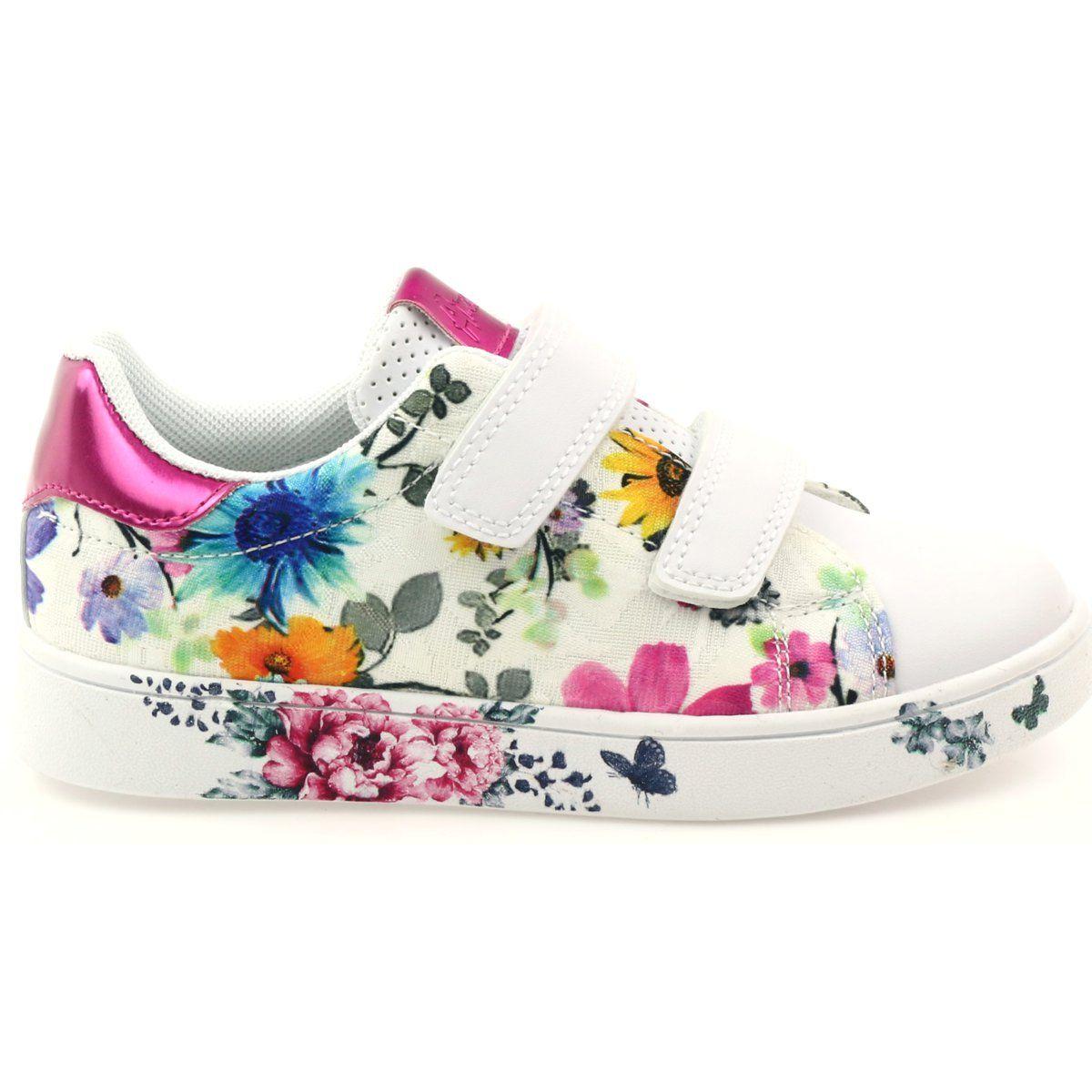 American Club Sportowe Trampki American Wkladka Skorzana Wielokolorowe Biale Winter Shoes Shoes Baby Shoes