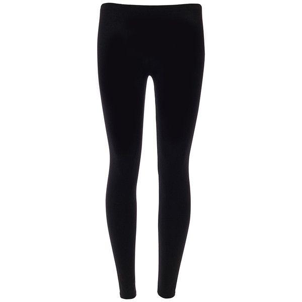 527cb6e1eb1d Black Leggings ($15) ❤ liked on Polyvore featuring pants, leggings,  bottoms, jeans, black, full length leggings, black pants, stretchy leggings,  ...
