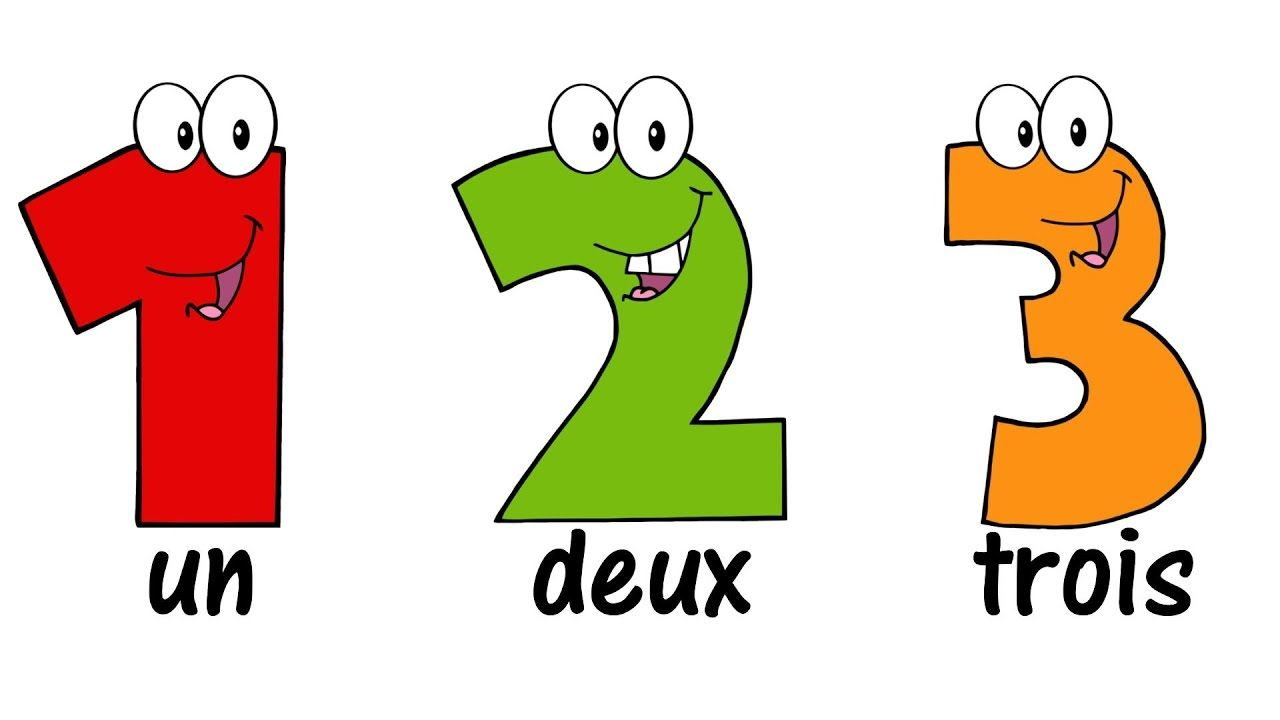 french numbers song 1