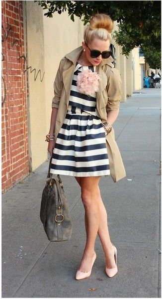 striped street fashion | Keep the Glamour | BeStayBeautiful