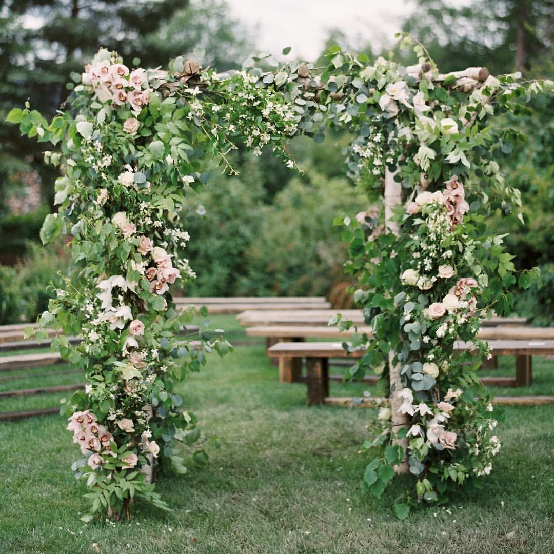 Outdoor Wedding Ceremony No Music: Cathie & Mark's #MontanaWedding -- Photography