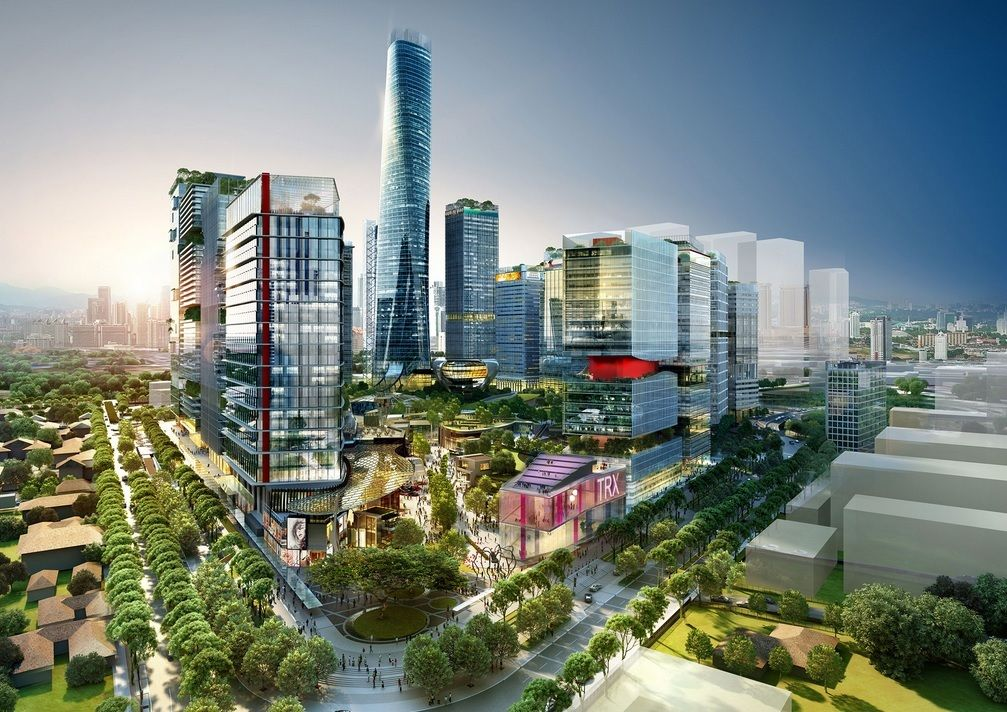 Mulia Seeks Local Funding For Trx Signature Tower Commercial Real Estate City Design Property