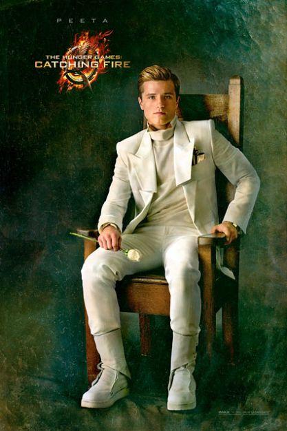 Hunger Games Catching Fire Katniss Peeta In Character