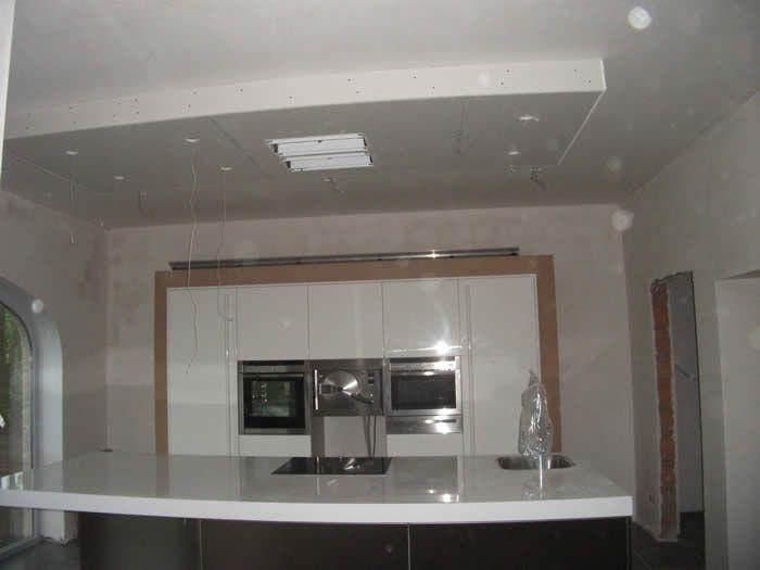 Keuken keuken plafond inspirerende foto 39 s en idee n van het interieur en woondecoratie - Design keuken plafond ...