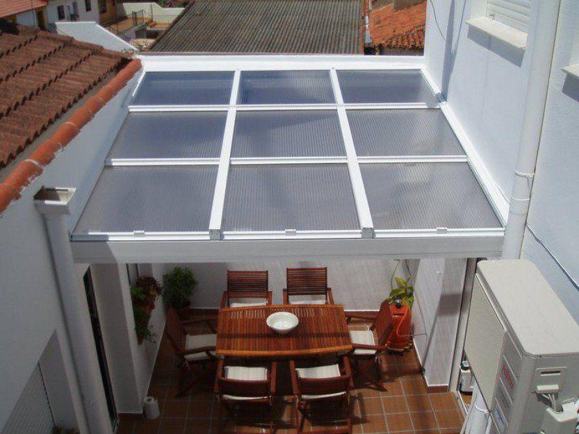 Resultado de imagen para techos de policarbonato - Techos de aluminio para terrazas ...