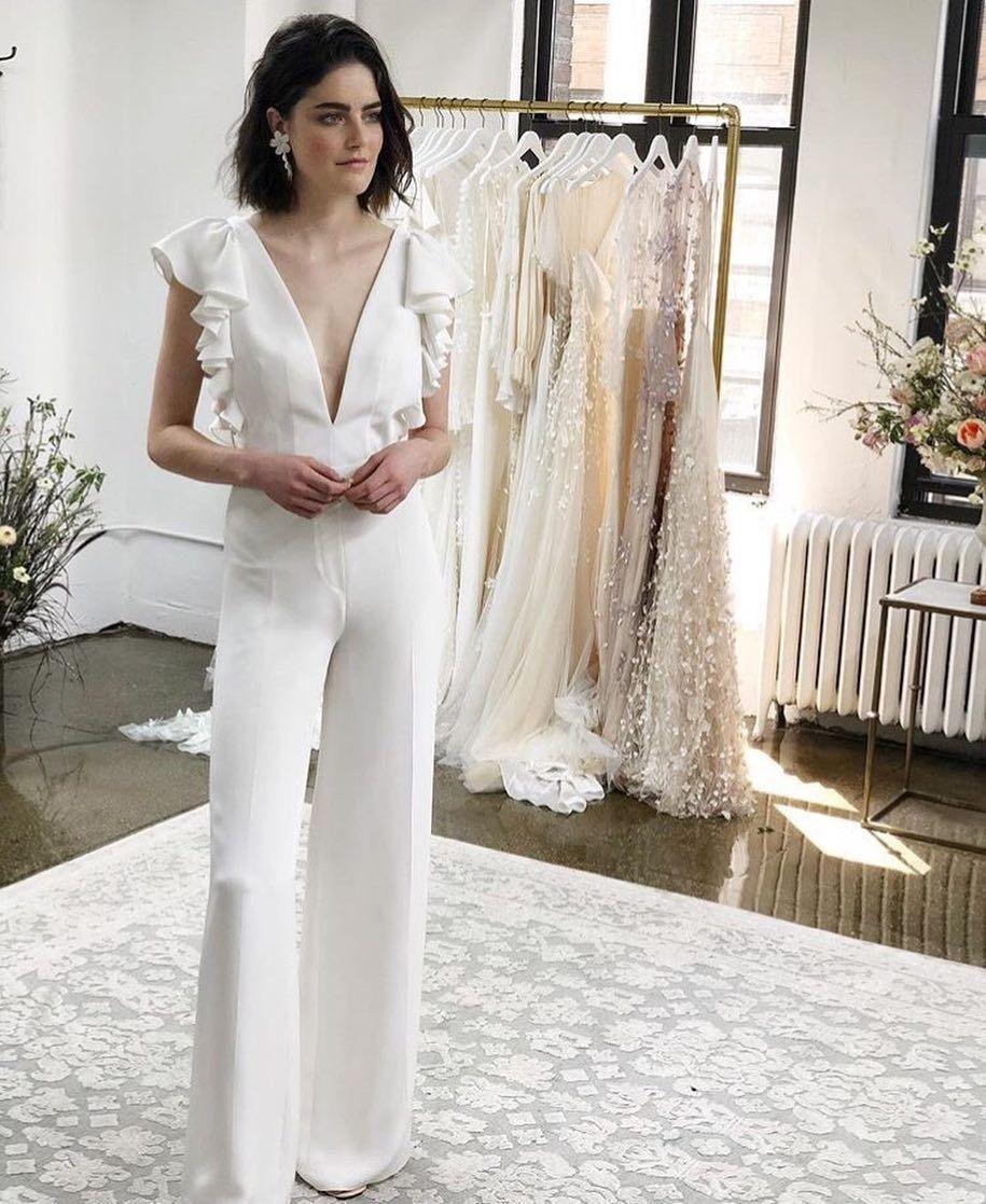 Regram via thewhitefiles Tomboy wedding dress, Wedding