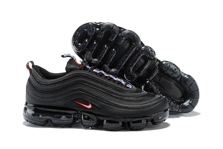 30af3c197839c1 Nike Air Vapormax 97 Triple Black Red