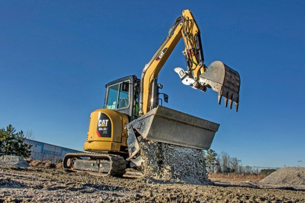 Innovative Iron Awards 2016 Cat S Xtra Tool Carrier Hydraulic Excavator Excavator Heavy Construction Equipment