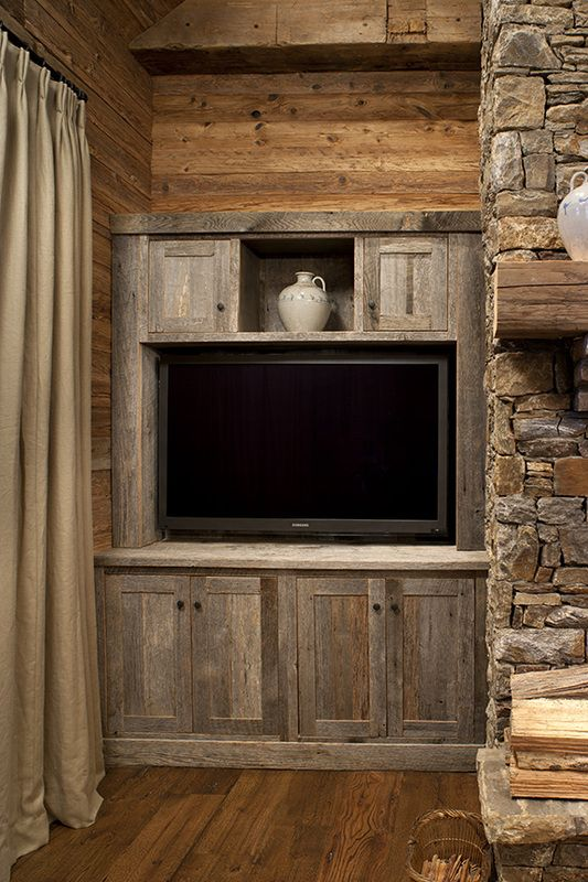 Gallery - Barnwood Cabinet Company That's kind of pretty. What if ...