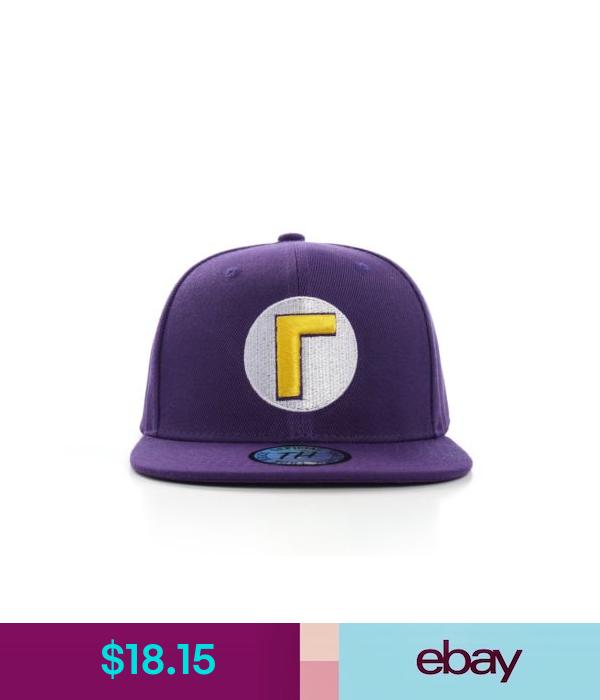 Hats True Heads Waluigi Super Mario Bros Snapback Baseball Cap Ebay Fashion Super Mario Bros Mario Bros Super Mario
