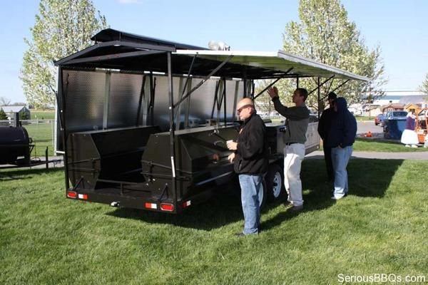 Ultimate Caterer Barbecue Trailer Bbq Pits Grills And