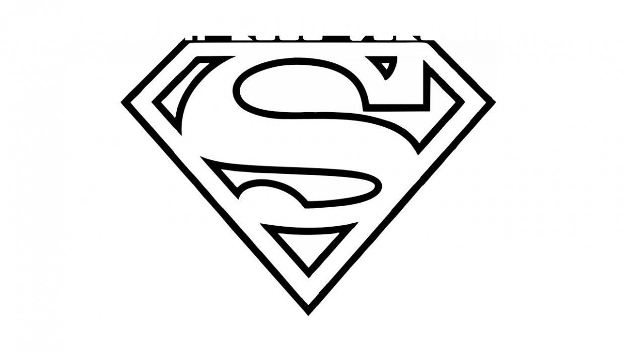 12 Superman Logo Coloring Page In 2020 Superman Coloring Pages Superman Logo Superhero Emblems