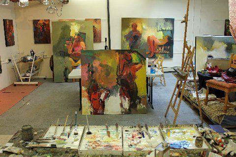 Ursula OFarrells Art Studio
