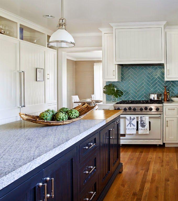 Best Place To Buy Cheap Kitchen Cabinets: Herringbone Backsplash, Kitchen