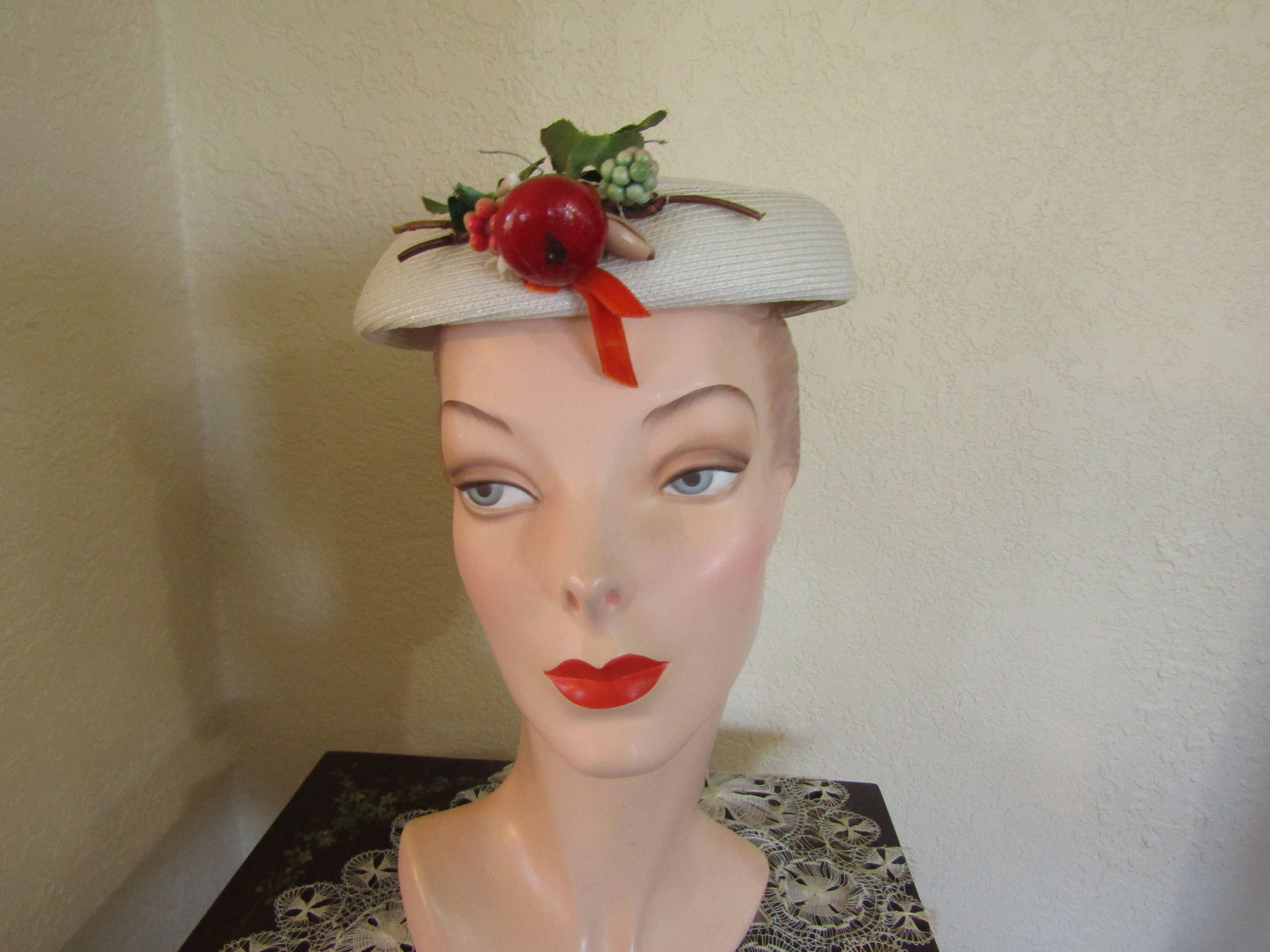 White Vintage Hats