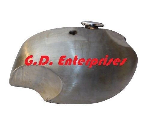 official supplier look good shoes sale shop Brand New BSA A65 Spitfire 4 Gallon Raw Steel Petrol Tank With Cap ...