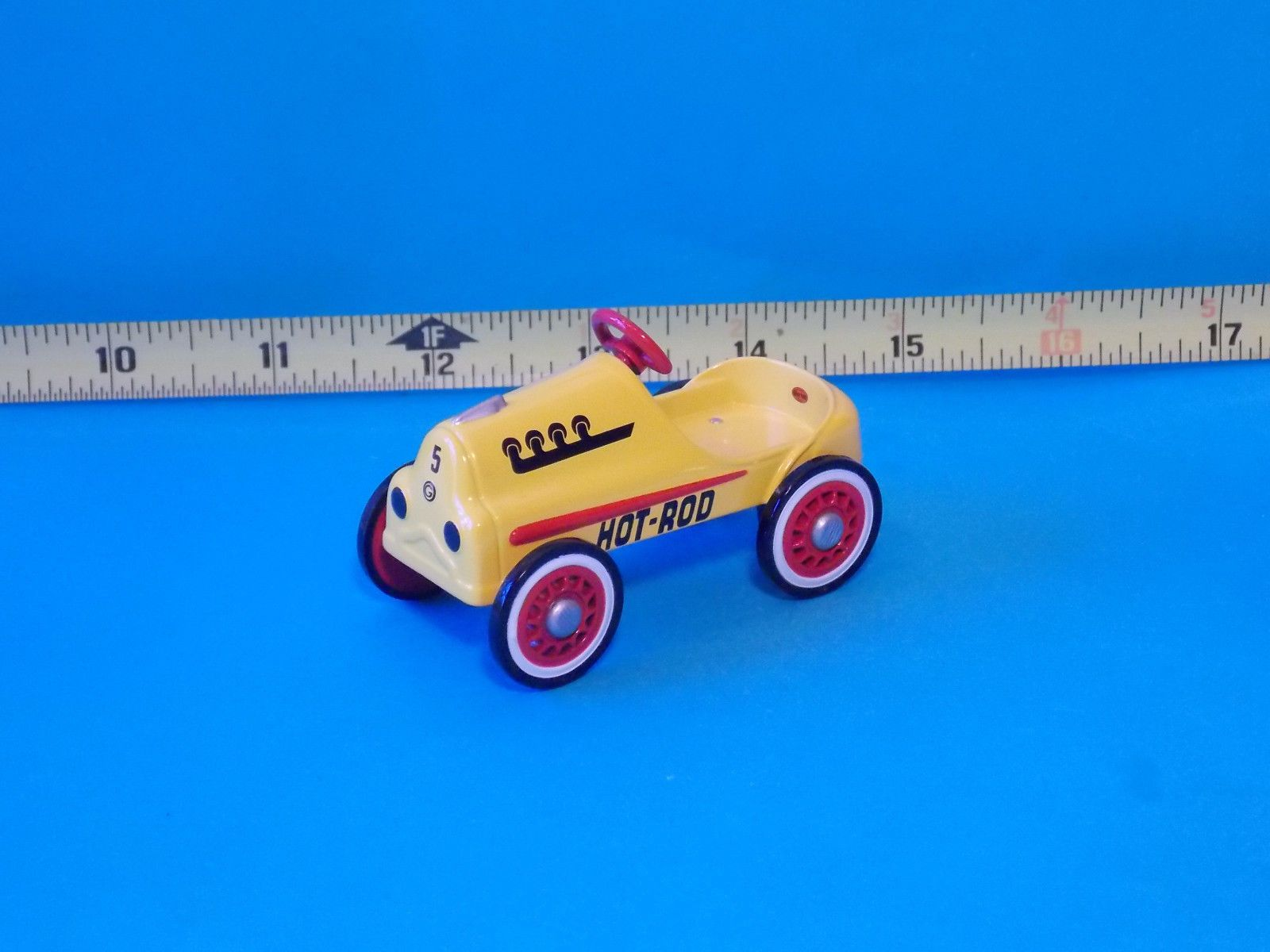 Miniature Dollhouse FAIRY GARDEN Accessories ~ Tiny Red Wagon ~ Free shipping!