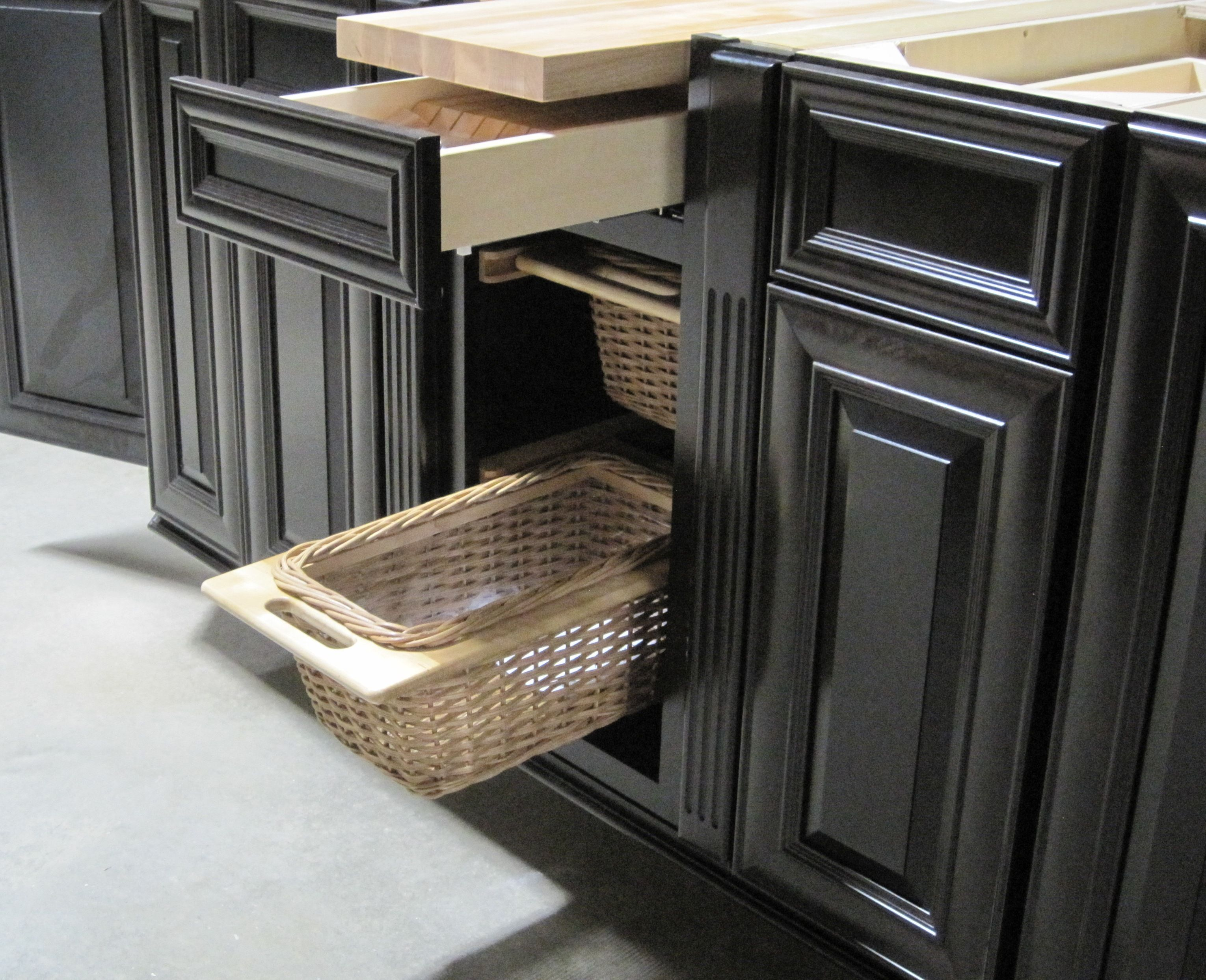 Beautiful Drawer Baskets Available In Most Cabinets. Brighton Cabinetry~ I Want These  Baskets. Where