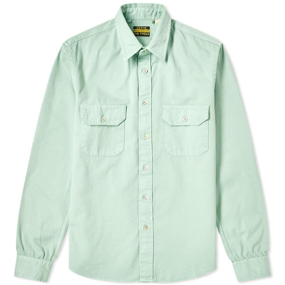 c9936abfcd LEVI S LEVI S VINTAGE CLOTHING TAB TWILL SHIRT.  levis  cloth ...