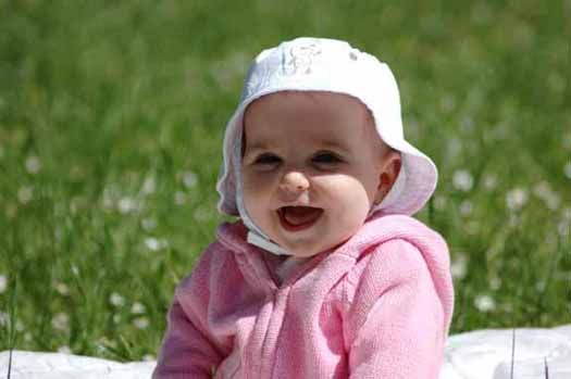 Happy baby on a sunny day! #iheartlenox