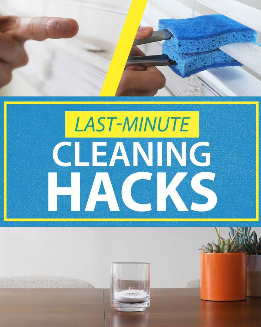 Last-Minute Cleaning Hack