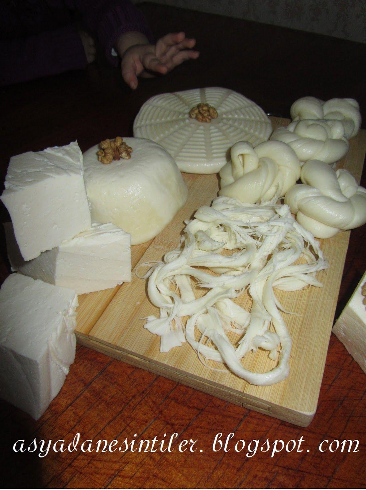 Evde kaşar peyniri nasıl yapılır