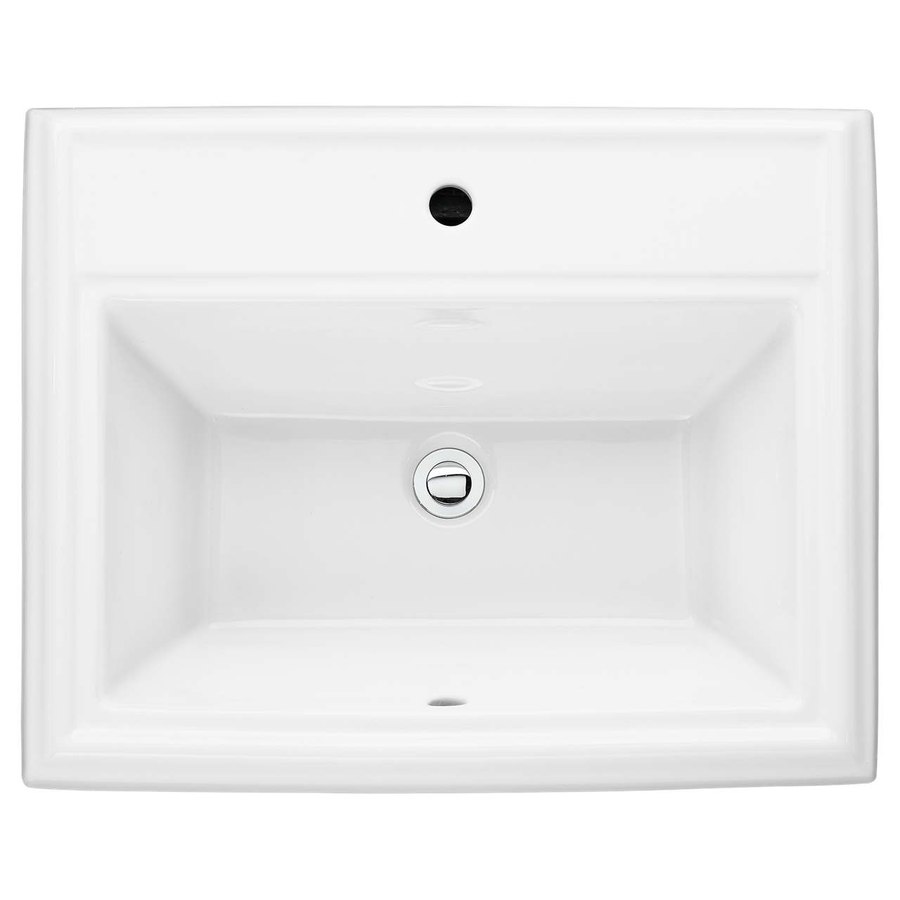 Bathroom Sinks Town Square Countertop Sink White Drop In