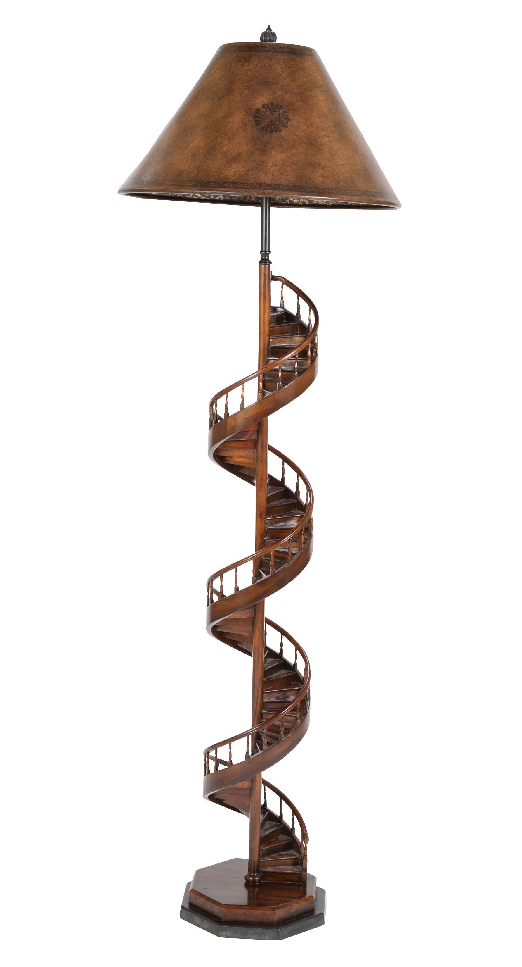 Architects Spiral Staircase Model Floor Lamp Floor Lamp Spiral Staircase Lamp